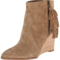 Nine West Retrolook Suede Boot Taupe