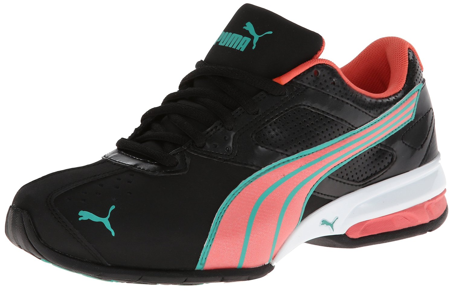 PUMA Tazon 5 Cross-Training Shoe BlackDubarryGreen a675e4d02
