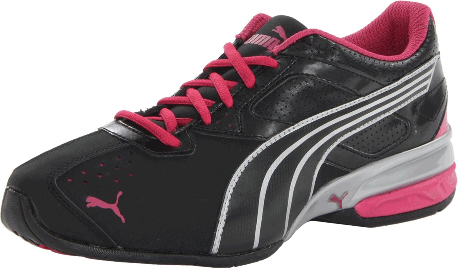 PUMA Tazon 5 Cross-Training Shoe BlackSilverBeetrootPurple 02560390f