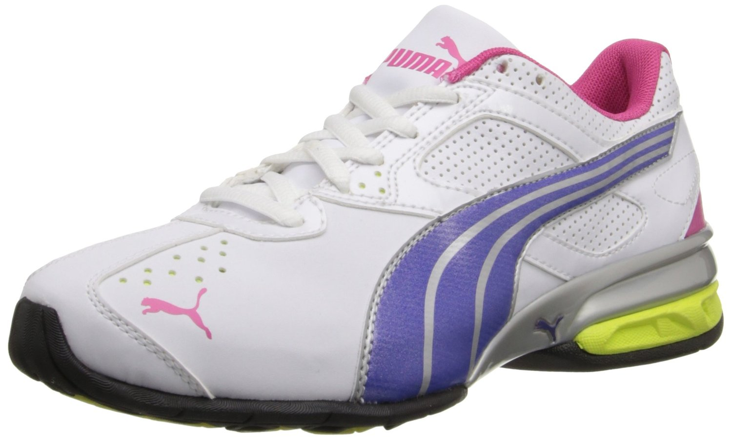 PUMA Tazon 5 Cross-Training Shoe WhiteSpectrum BlueBeetroot Purple 58c7225ce