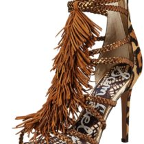 Sam Edelman Savannah Dress Sandal Chestnutantiquebronze