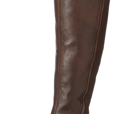 Steve Madden Skippur Motorcycle Boot Brown