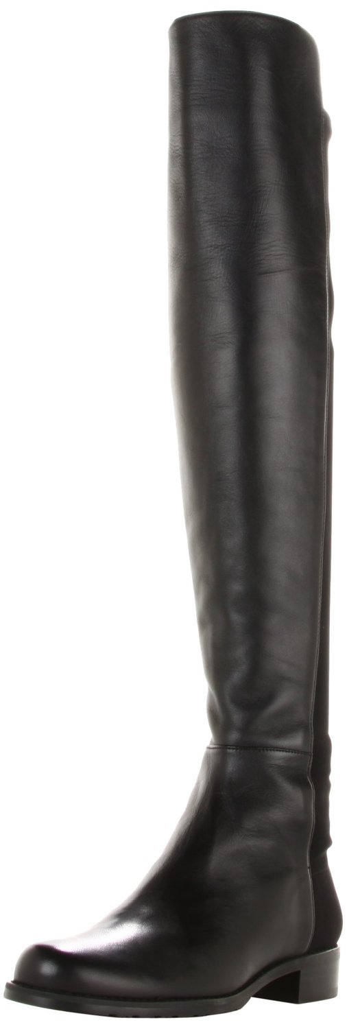 21e588a0745 Stuart Weitzman 5050 Over-the-Knee Boot Black nappa