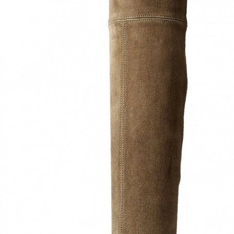 Stuart Weitzman Lowland Over-The-Knee Boot Loden Suede