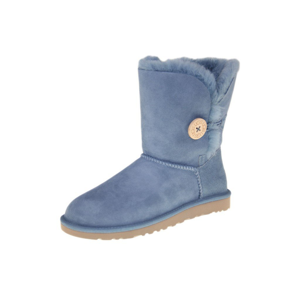 uggs blue bailey button boots. Black Bedroom Furniture Sets. Home Design Ideas
