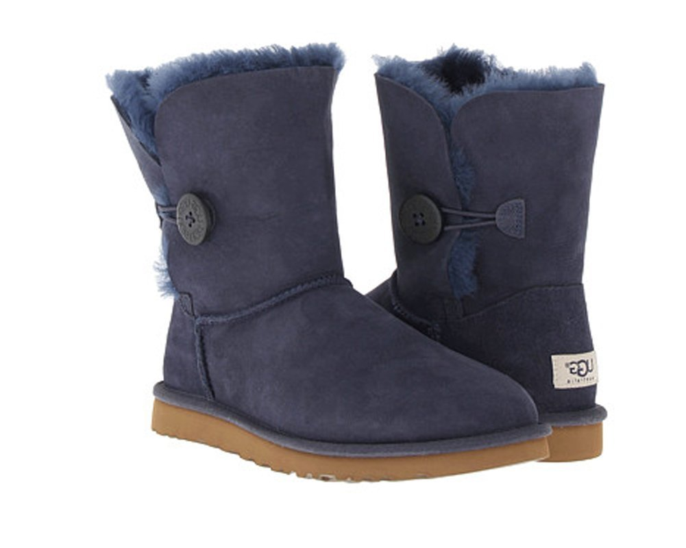 UGG Bailey Button Boot Navy