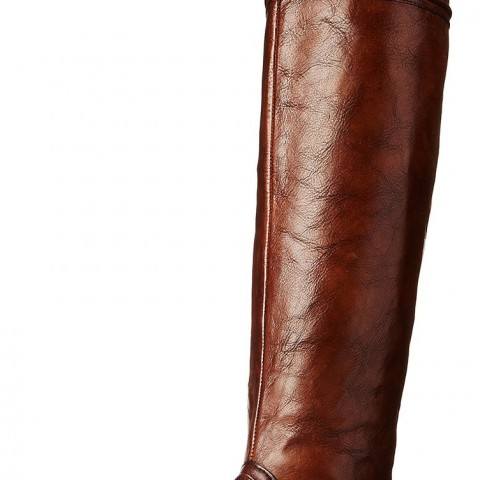 Vince Camuto Fantasia Riding Boot RussetDark Brown