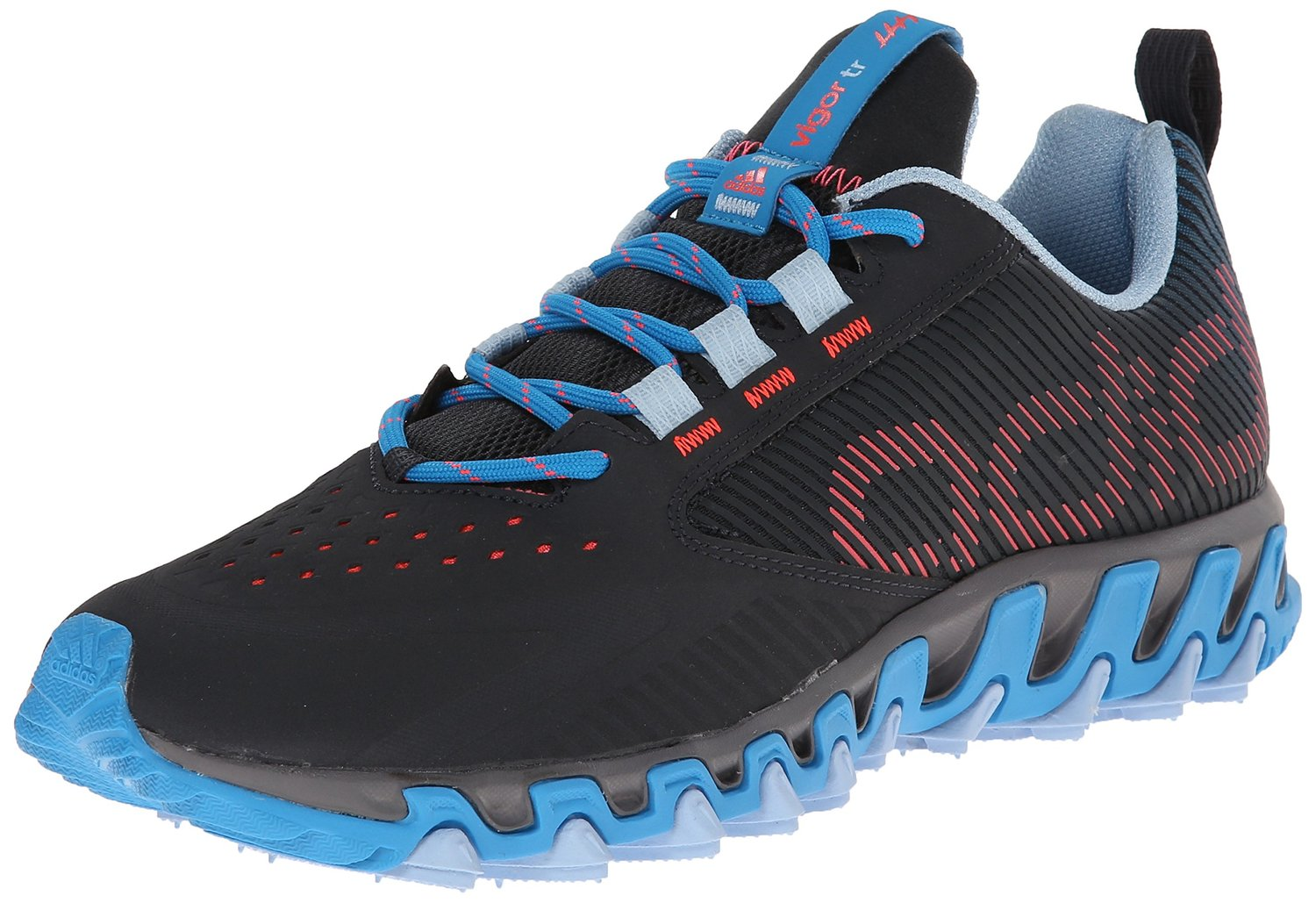 9b92cd33c1c86 adidas Performance Vigor 5 TR W Trail Running Shoe Dark GreyAltitudeSolar  Blue