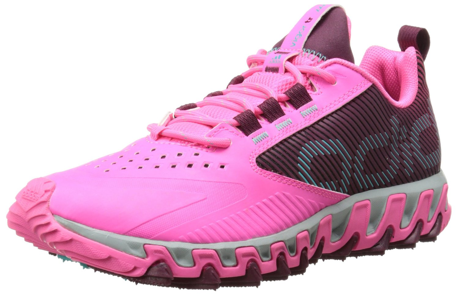 c77177673da70 adidas Performance Vigor 5 TR W Trail Running Shoe Solar PinkAmazon  RedVivid Mint