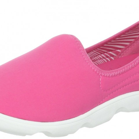 crocs Duet Busy Day Skimmer Hot PinkWhite