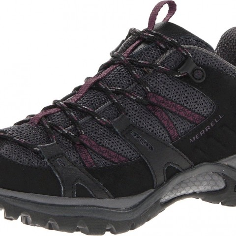 merrel Siren Sport 2 Hiking Shoe in  Black Purple