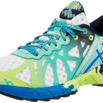 ASICS GEL-Noosa Tri 9 Running Shoe WhiteElectric BlueMint