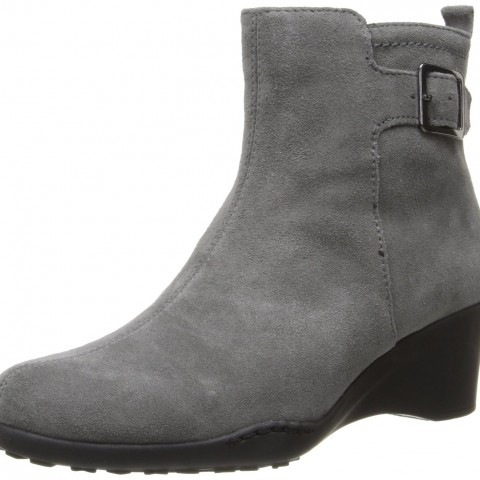 Aerosoles Entorage Boot Dark Gray Suede