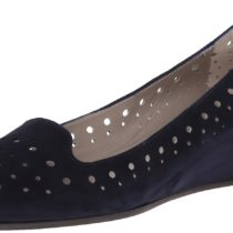 Aquatalia by Marvin K. Mood Wedge Pump Navy Suede