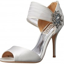 Badgley Mischka Galya Dress Pump White