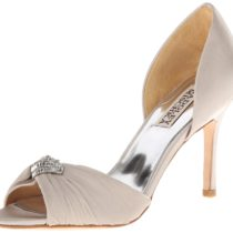 Badgley Mischka Jennifer D'Orsay Pump Silver