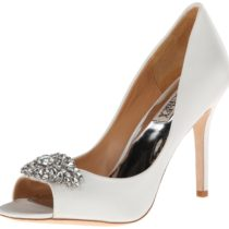 Badgley Mischka Lavender II Dress Pump WhiteSatin