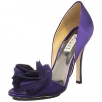 Badgley Mischka Randall D'Orsay Pump PurpleSatin