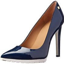 Calvin Klein Brigitte Dress Pump NavyWhite