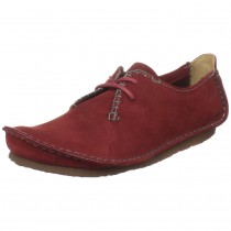Clarks Faraway Field Oxford _red