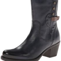 Clarks Maymie Skye Chelsea Boot navy leather