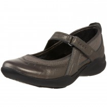 Clarks Wave.Cruise Mary Jane Flat _Pewter