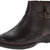 Clarks Whistle Oat Boot Brown