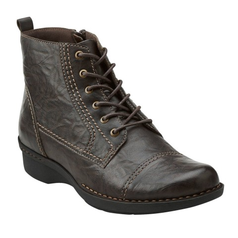 Clarks Whistle Vine Boot Brown