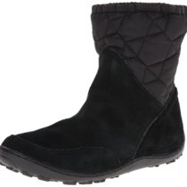 Columbia Minx Pull-On Omni-Heat Winter Boot Black