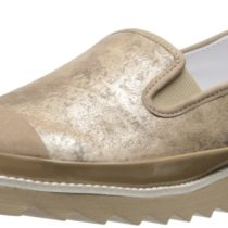 Donald J Pliner Beliz RZ Flat_Platino,Rustic Metallic Leather