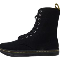 Dr. Martens Stratford 9 Eye Fold Down Boot_Black