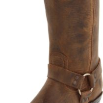 FRYE Harness 12R Boot Tan