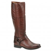 FRYE Phillip Harness Tall Boot Red