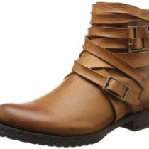 FRYE Veronica Strappy Boot Brown Color