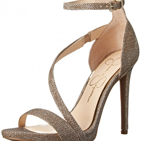 Jessica Simpson Rayli Dress Pump Gold