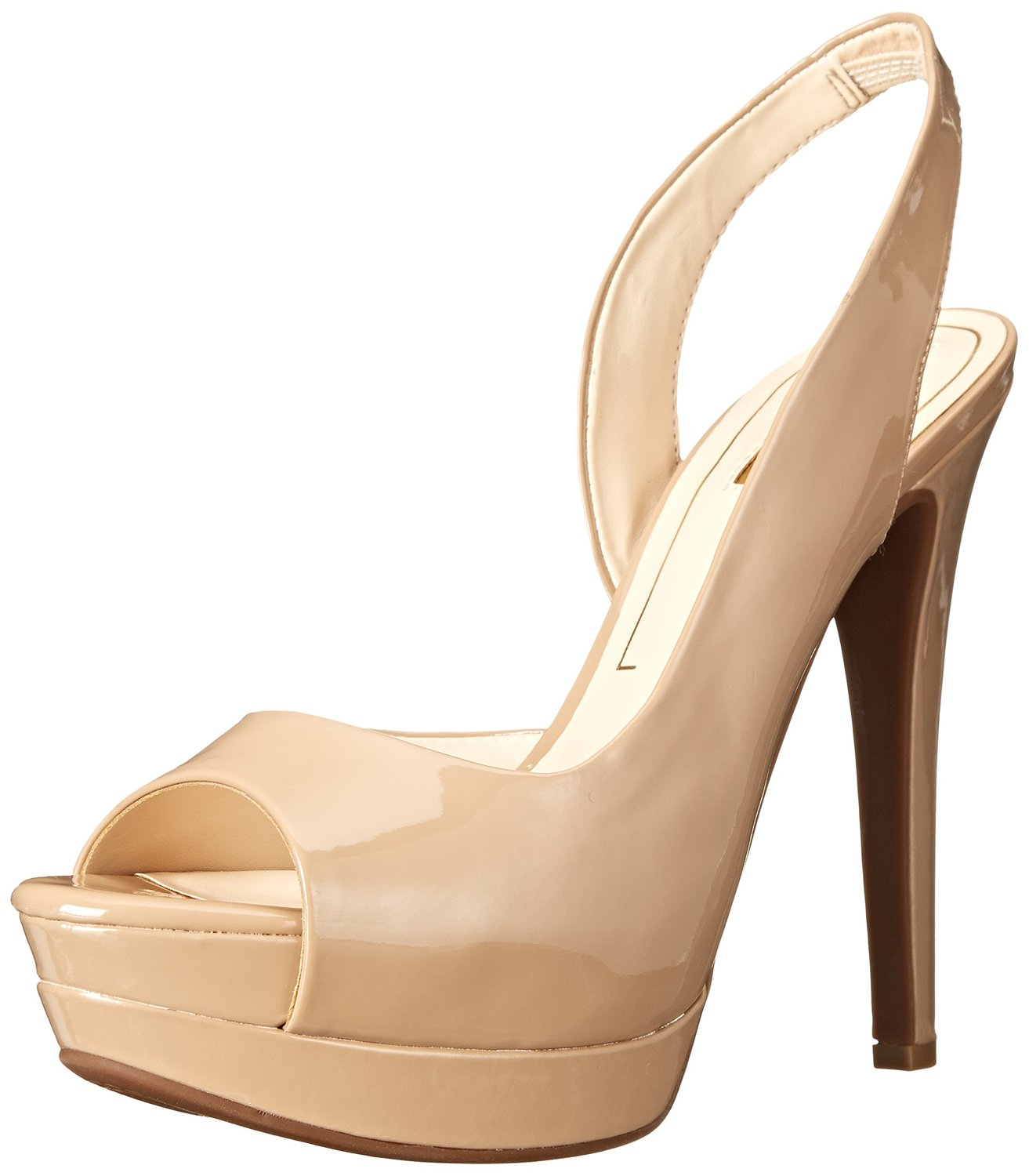 Nude # Pumps # Jessica Simpson # Lack # high Heels