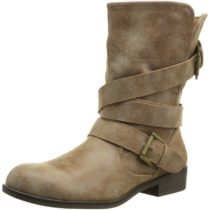 Madden Girl Cullenn Motorcycle Boot Cognac