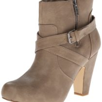 Madden Girl Sharpen Boot Taupe