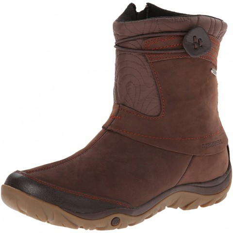 Merrell Dewbrook Zip Waterproof Winter Boot Espresso