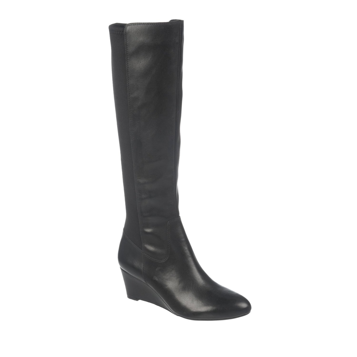 naturalizer quinlee wide shaft boot
