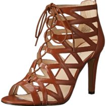Nine West Authority Leather Spectator Pump Dark Natural