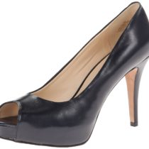 Nine West Camya Peep-Toe Pump Navy