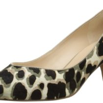 Nine West Cassy Pony Dress Pump Taupe