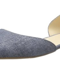 Nine West Stardust Leather Ballet Flat_Blue