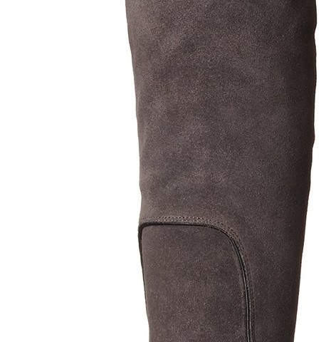 Rebecca Minkoff Blessing Over-the-Knee Boot Charcoal Waxy Suede