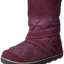 Sorel Glacy Slip-On Snow Boot Vino