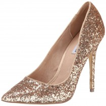 Steve Madden Atlantyc Dress Pump Gold Glitter