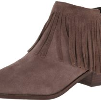 Steve Madden Patzee Boot Taupe Suede