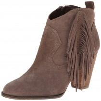 Steve Madden Ponncho Bootie Taupe Suede