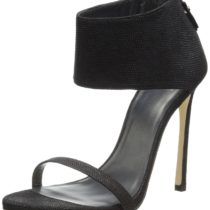 Stuart Weitzman Showgirl Dress Sandal Black